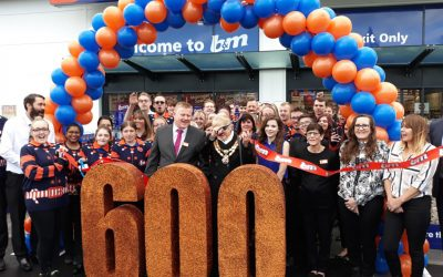 B&M's 600th Store Opening